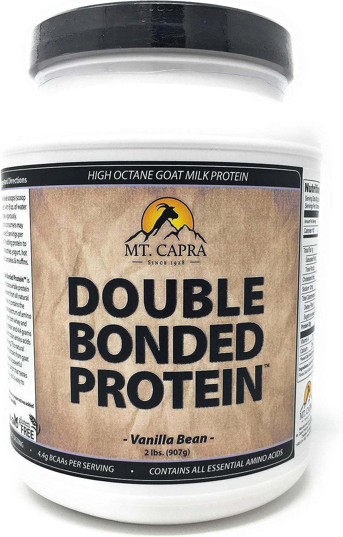 MT. CAPRA SINCE 1928 Double Bonded Protein – Vanilla Bean – 2 Lbs, 2 Pound