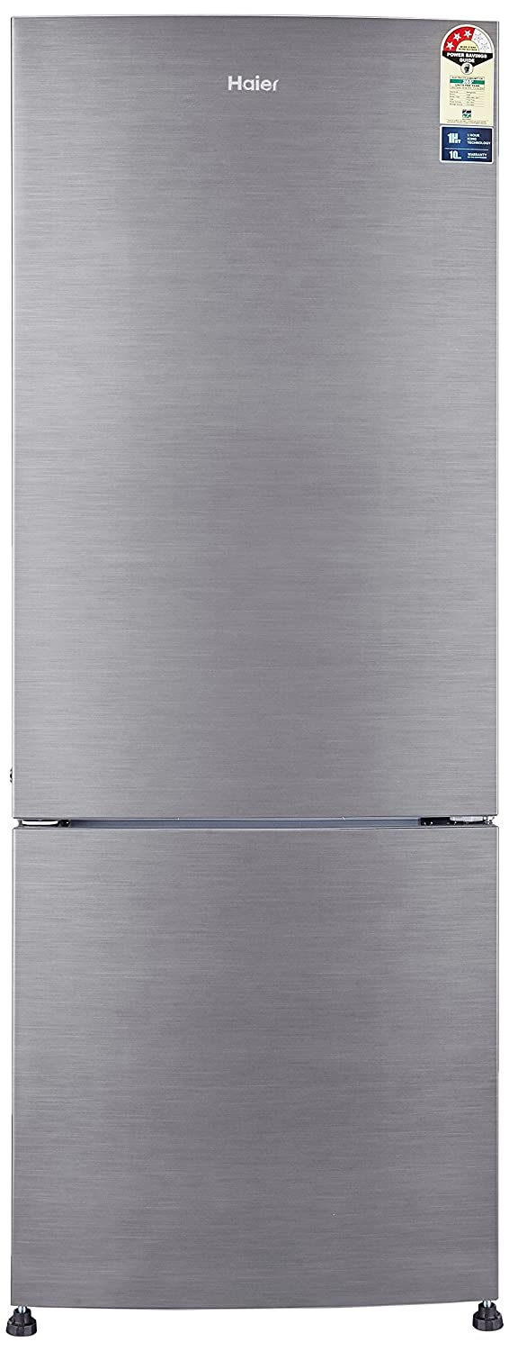 Haier 320 L 3 Star Frost Free Double Door Refrigerator HRB-3404BS-R/HRB-3404BS-E