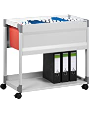 Durable System File Trolley 90 378410 Suspension File Trolley A4 Grey