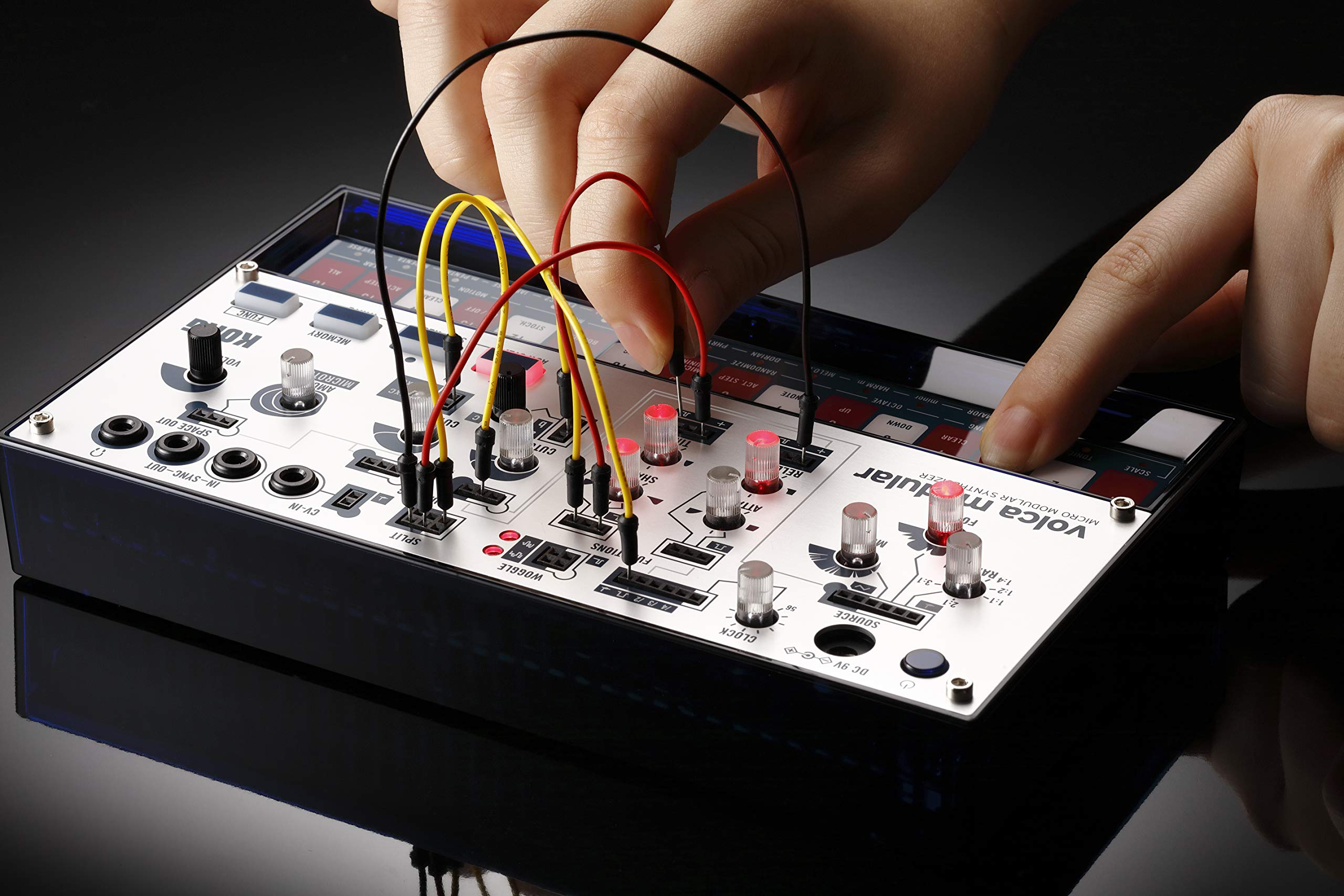 Korg Volca Modular Semi-Modular Synthesizer with Sequencer by Korg (Image #2)