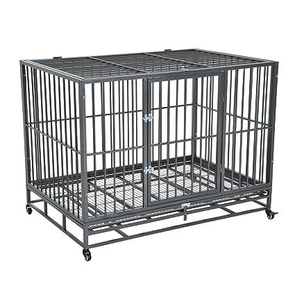 steel dog kennel