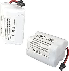 HQRP 2-Pack Battery Compatible with Uniden Bearcat BC250 BC250D BC296 BC296D BC245 BC245XLT UBC245XLT Scanner