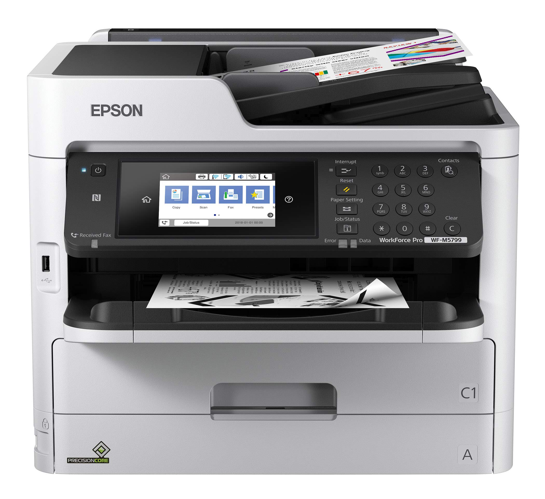 Epson Workforce Pro WF-M5799 Workgroup Monochrome Multifunction Printer by Epson
