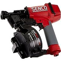 "Senco 8V0001N 1-3/4"" 15 Degree Angle Wire Coil Nailer, Red/Gray"