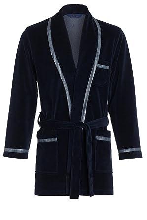c9315e6faa5ed Courte Robe de Chambre pour Hommes RE-117 Velours: Amazon.fr: Vêtements et  accessoires