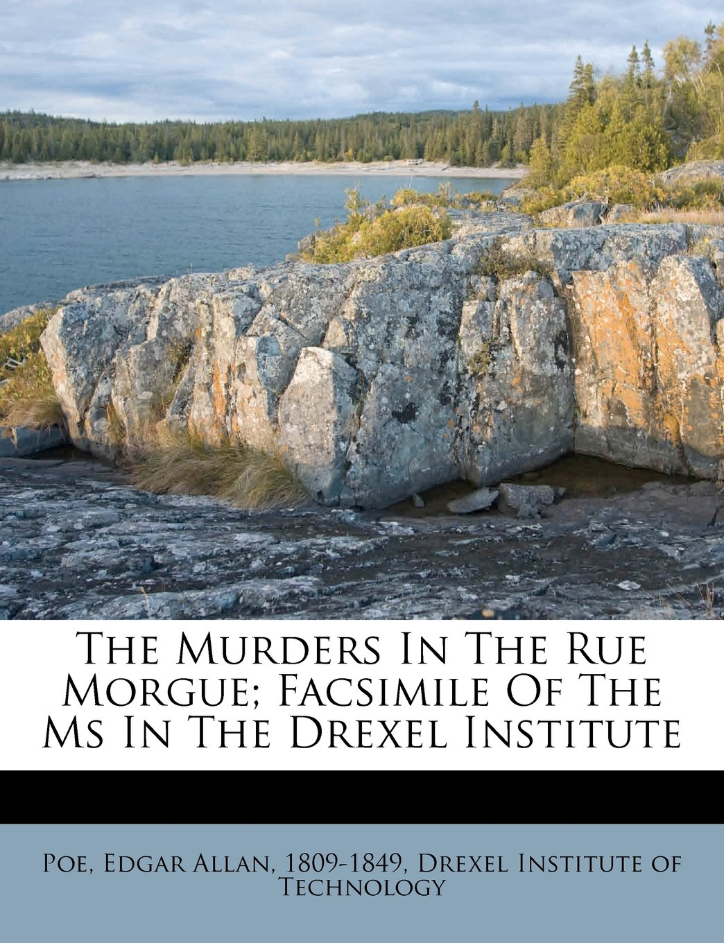 The Murders In The Rue Morgue; Facsimile Of The Ms In The Drexel Institute pdf