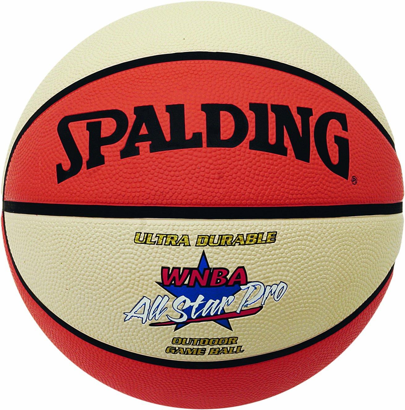 Spalding - Balón de baloncesto WNBA Outdoor All Star, tamaño 6 ...