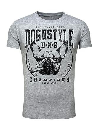 Legendary Items Herren T-Shirt Rundhals Printshirt Dog n Style Champions  Hund Französische Bulldogge Vintage  Amazon.de  Bekleidung 2e4f305c0c