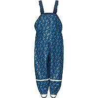Playshoes Regenlatzhose Mit Baustelle Allover Pantalones Impermeable para Bebés