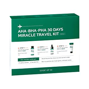 SOME BY MI Aha.Bha.Pha 30Days Travel Limited Edition 3 Pcs Set (Toner 30ml+Serum 10ml+Cream 20g)