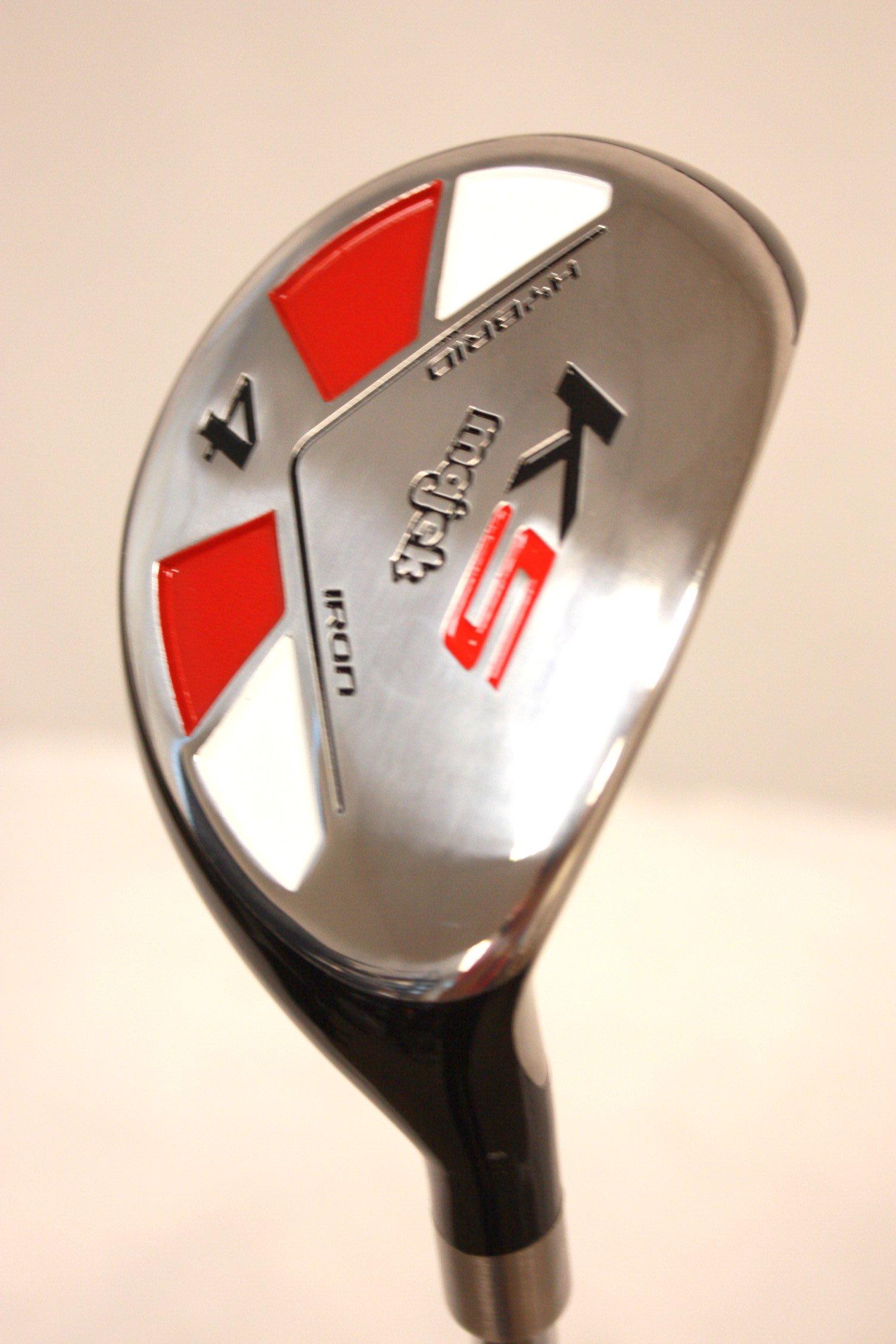 Majek Golf All Hybrid #4 Regular Flex Right Handed New Utility R Flex Club by Majek