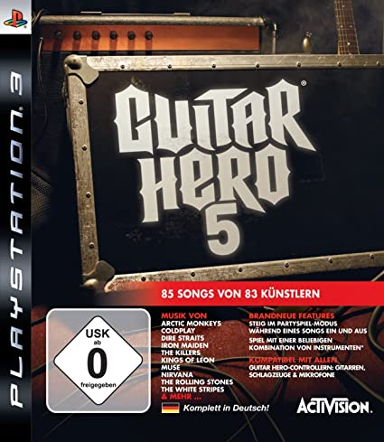 Activision Guitar Hero 5 (PS3) - Juego (PlayStation 3, Música, T