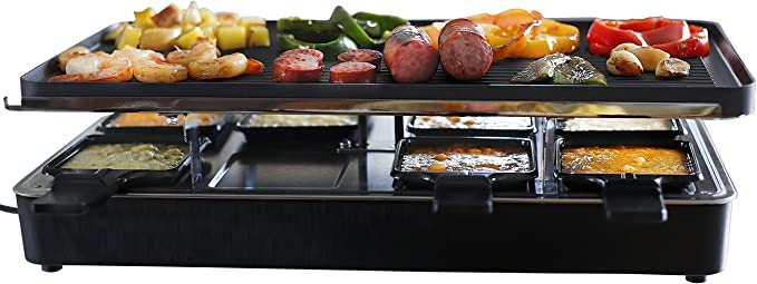 Milliard Raclette Grill for Eight People - Best Quality