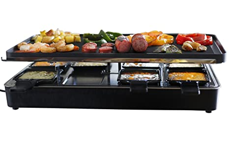 Amazon.com: Milliard,asador de raclette para ocho ...