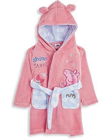 I Love Unicorn/'s Emoji Dressing Gown Girls Fluffy Unicorn Fleece 7 to 13 Years