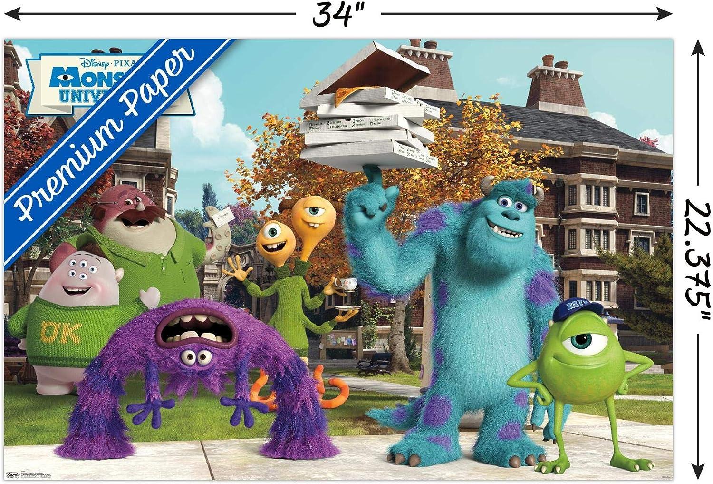 Amazon Com Trends International Monsters University Oozma Kappa Wall Poster 22 375 X 34 Posters Prints