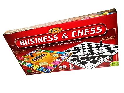 Buy NILSEA, CJE Business & Chess 2 in 1 | Best Board Games