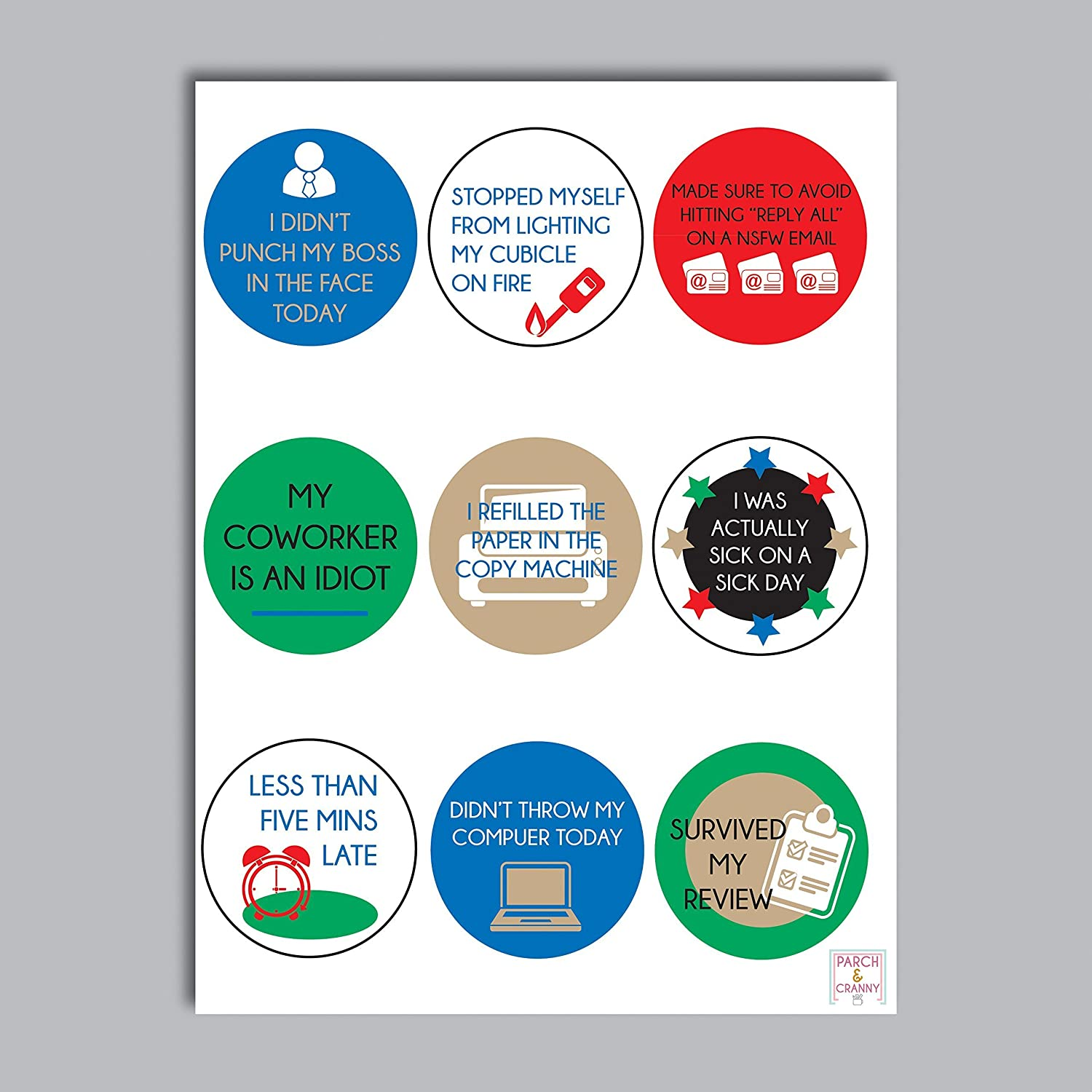Amazon com adult reward stickers stickers for grown ups stickers for the office workplace stickers funny stickers handmade