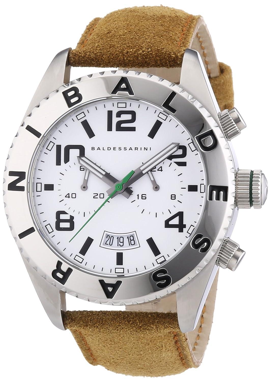 Baldessarini Herren-Armbanduhr XL MUC Chronograph Quarz Leder Y8083W-20-00