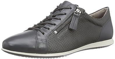 Ecco Touch Sneaker, Sneakers Basses Femme - Gris - Grau (Dark Shadow/Dark SHADOW56586), 39