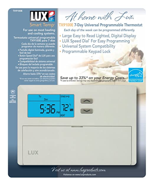 81yZAbBcvjL._SX522_ lux tx9100e 7 day universal programmable thermostat locking  at soozxer.org