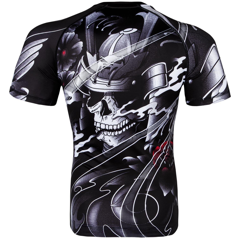 Maglietta Maniche Corte Uomo Venum Samurai Skull