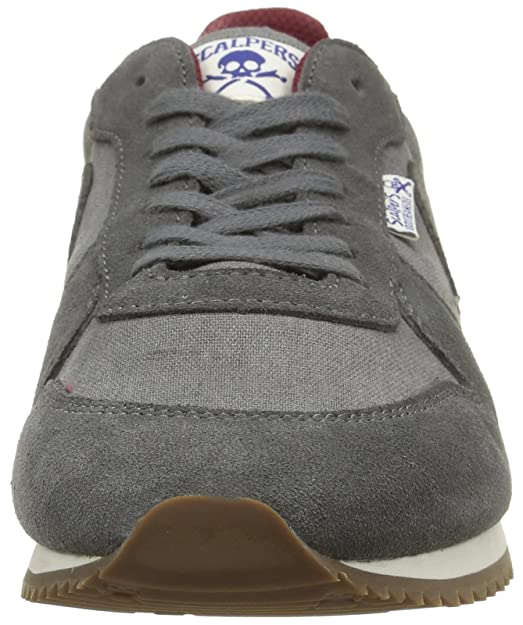 Scalpers Skull Insignia 01 - Zapatillas para Hombre, Color Gris (Grey), Talla 44: Amazon.es: Zapatos y complementos