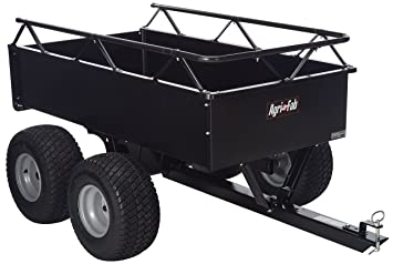 Agri-Fab 1000-Pound Heavy Duty Steel ATV Tow Tandem Axle