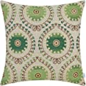 "CaliTime 18"" x 18"" Chenille Throw Pillow Cover"