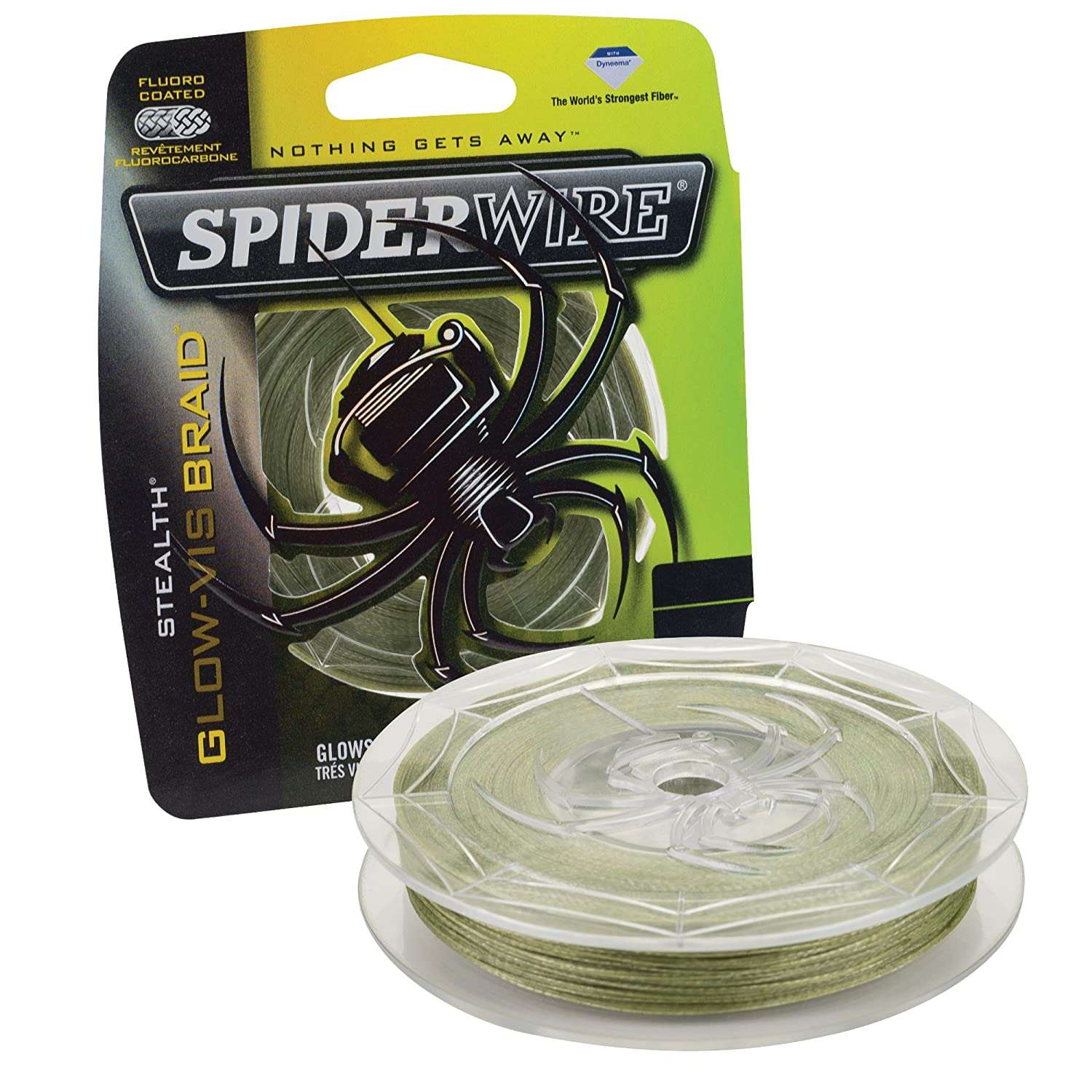 Spiderwire Braided Stealth Superline 1339718-P