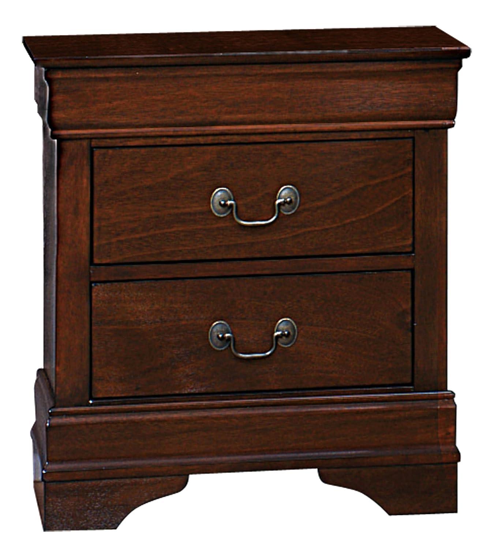 F3 FURNITURE FASHION FORWARD F3 Homelegance 2147-4 Nightstand, Cherry, Small Mazin Furniture