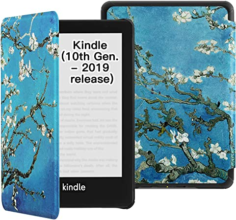 ,Retro Rocket Spaceship Taking Off Tablet Case 10th Generation, 2018 Release All-New Kindle Paperwhite Water-Safe Fabric Cover