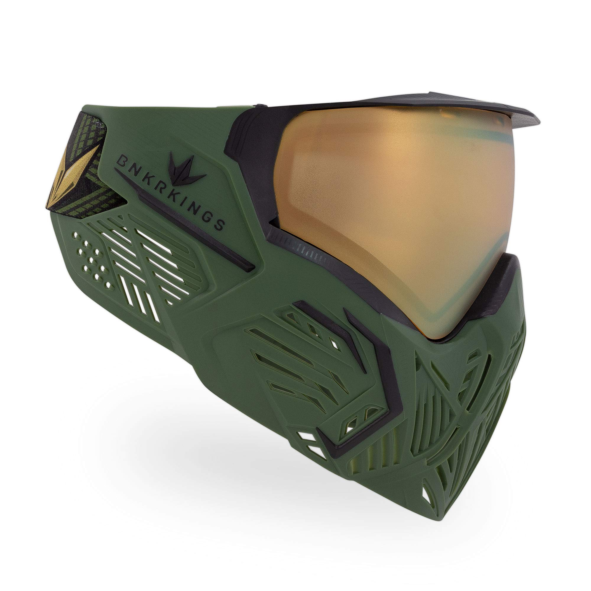 Bunker Kings CMD Paintball Goggle/Mask - Limited Edition Master Sarge by Bnkr Kings