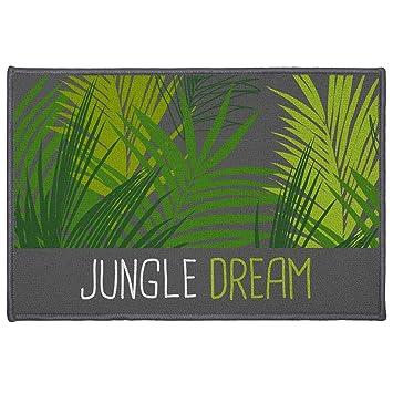Deco Tapis Jungle Dream Rug Rectangle Polyester Multicolored 40