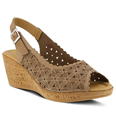 Amazon.com | Spring Step Women's Style Malana Leather Sandal | Platforms &  Wedges