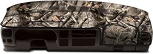 Coverking Custom Fit Dashboard Cover for Select Dodge RAM 1500 Models - Velour (Hardwoods)
