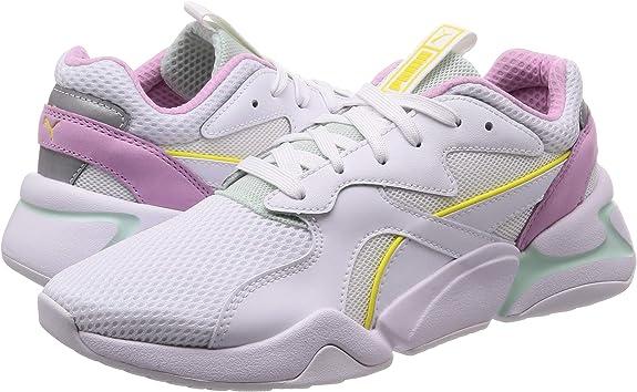 PUMA Nova Mesh Womens White Sneakers