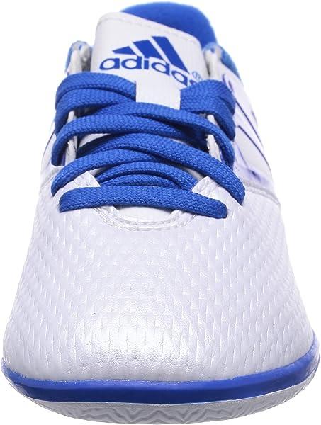 4777e83ffa851 Amazon.com   adidas Messi 15.3 in White Junior Indoor Sports/Soccer ...