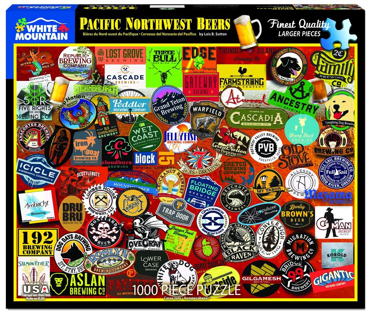 ふるさと納税 パシフィックノースウエストビールジグソーパズル 1000ピース B07H7TJZTS 1000ピース B07H7TJZTS, 千歳村:36b57c12 --- a0267596.xsph.ru