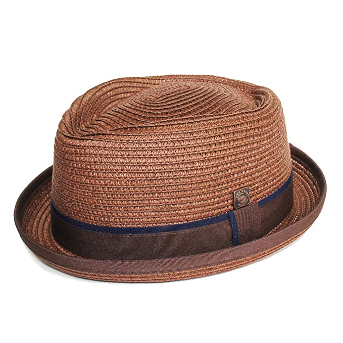 d9d8e250cdf Dasmarca Mens Summer Pork Pie Straw Hat  Amazon.ca  Jewelry