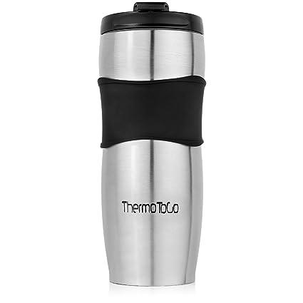 amazon com travel coffee mug with lid one of the best genuine