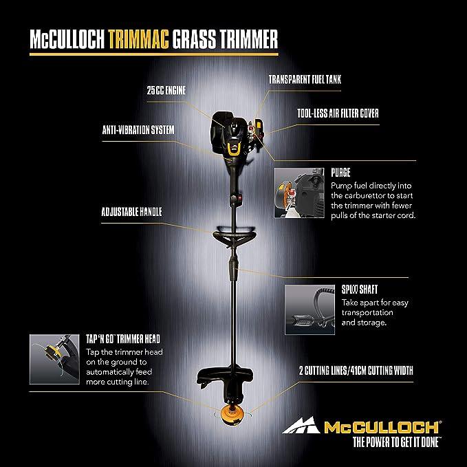 mcculloch trimmac 210 instruction manual