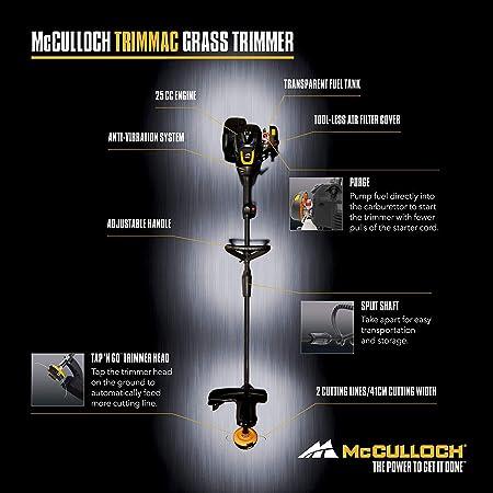mcculloch strimmer tm210 manual