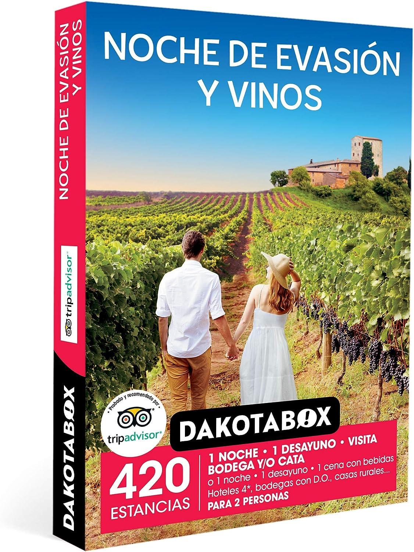 noche de evasion y vinos dakotabox