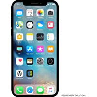 Apple iPhone X, GSM Unlocked, 256GB - Silver (Renewed)
