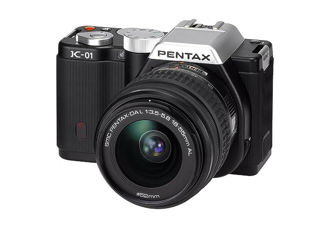 Pentax K01+18-55+50-200MM - Cámara EVIL, 18-55 mm + 50-200 mm, Negro: Amazon.es: Electrónica