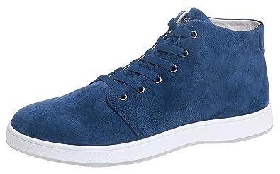 Men's Patron Nubuck Leather High Top Shoe