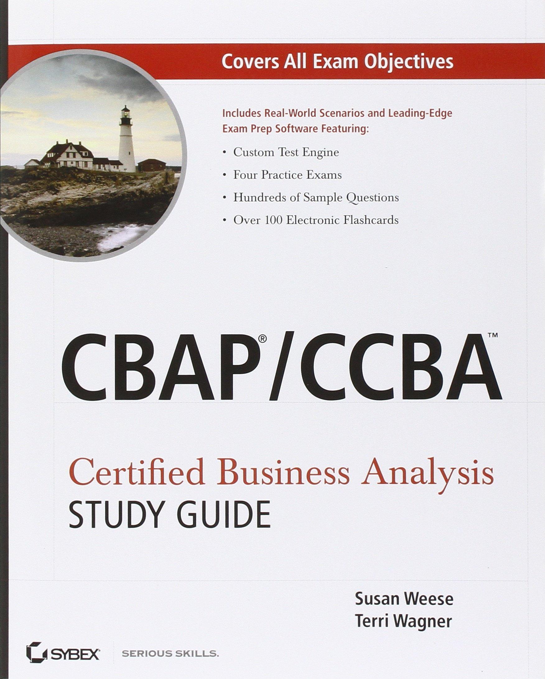 Cbapccba Certified Business Analysis Study Guide Amazon Susan