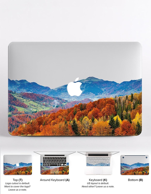 c6261ab56d5af Amazon.com: WolfCases Apple Decal Macbook Air 11 13 Pro 13 15 Pro ...