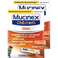 Mucinex Children's Chest Congestion Expectorant and Cough Suppressant Mini-Melts...